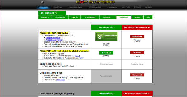 pdf redirect for mac