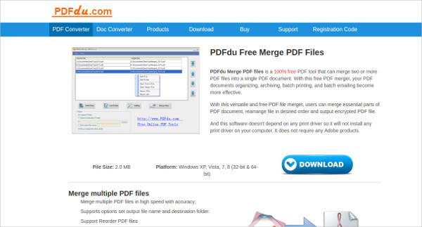 pdfdu merge pdf files