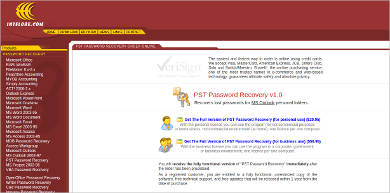 pst password recovery v1