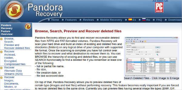 pandora recovery6