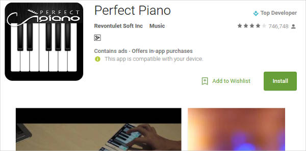 perfect piano for android