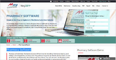 pharmacy software by marg