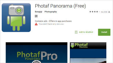 photaf panorama for android