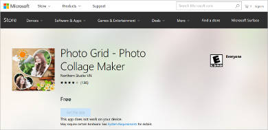 photo grid for windows