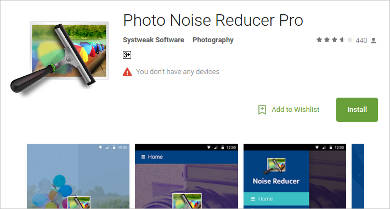 photo noise reducer pro for android