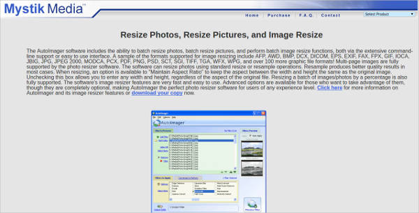 photo resizer software