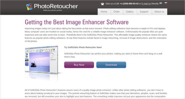 photo retoucher most popular software