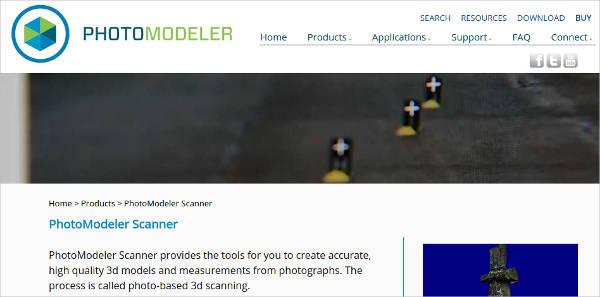 photomodeler scanner