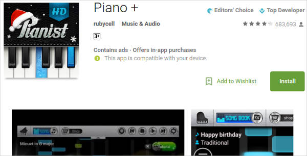piano for android1