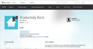 productivity burst