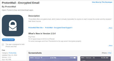 protonmail for mac