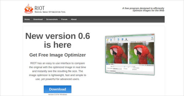 radical image optimization tool