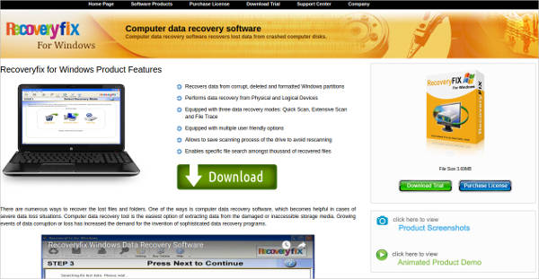 recoveryfix for windows