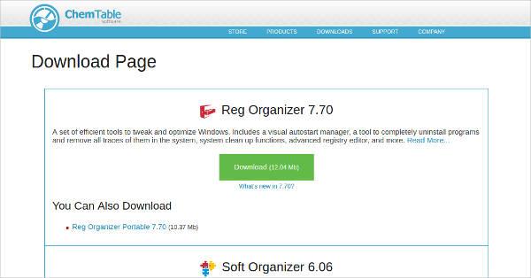 reg organizer for windows