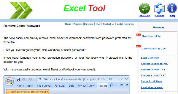 remove excel password for windows