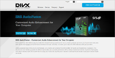 srs audiofusion