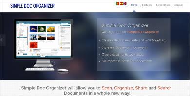 simple doc organizer