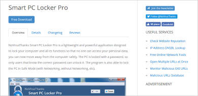 smart pc locker pro most popular software