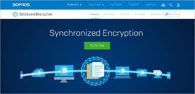 sophos safeguard most popular software