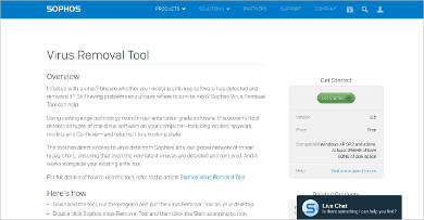 sophos virus removal tool svrt1