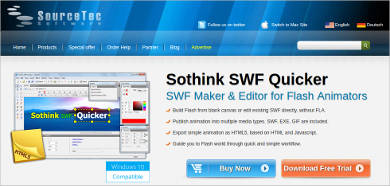 sothink swf quicker most popular software