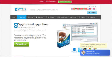 spyrix keylogger free