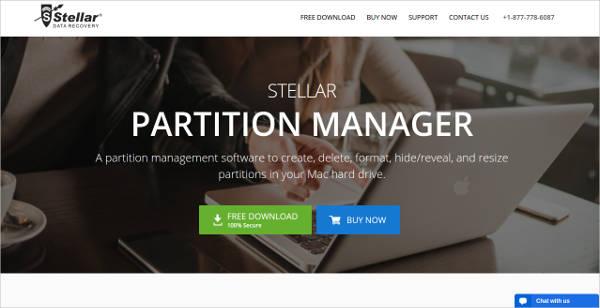 stellar mac partition manager
