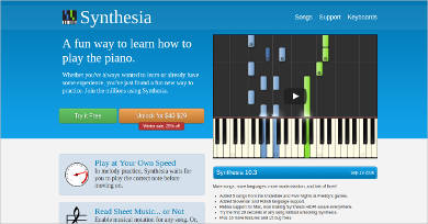 synthesia most popular software