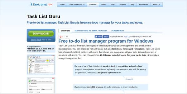task list guru2
