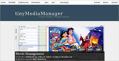tiny media manager