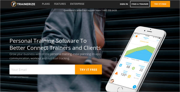 trainerize most popular software