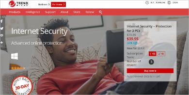 trendmicro internet security