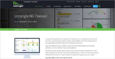 untangle ng firewall