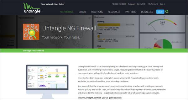 untangle ng firewall1