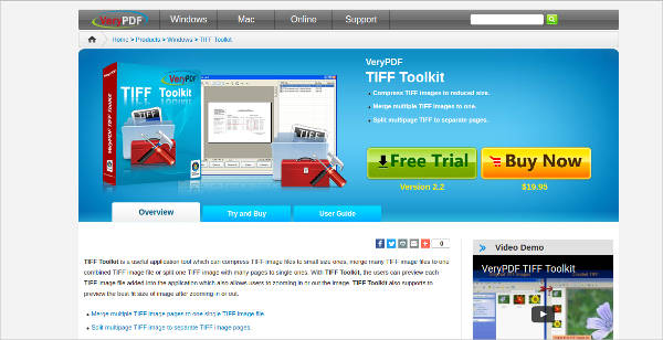 very pdf tiff toolkit