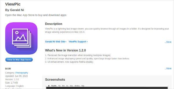viewpic for mac