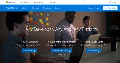 visual studio most popular software