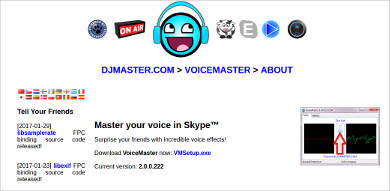 voicemaster for widows