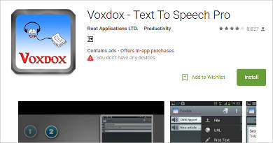voxdox for android