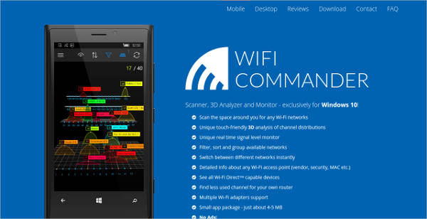 wifi commander for windows