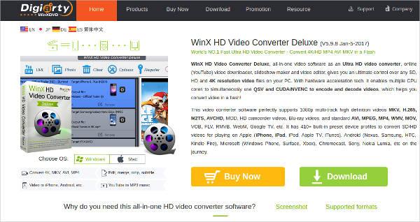 winx hd video converter deluxe2