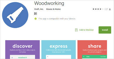 woodworking for android