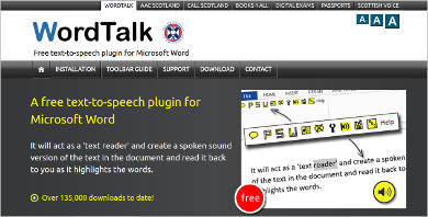 word talk most popular software