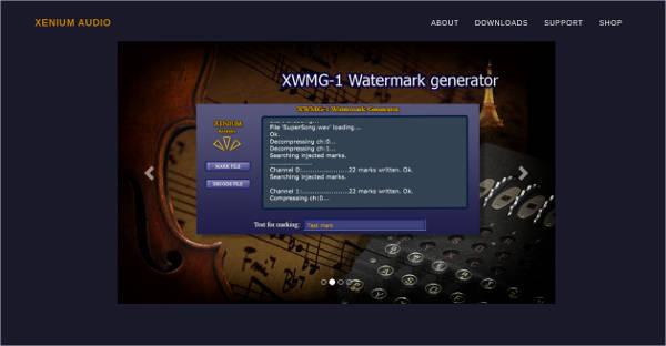 xwmg 1 audio watermark generator for mac