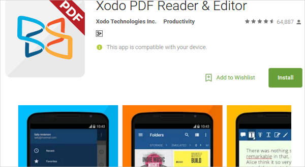 xodo pdf reader editor for android1
