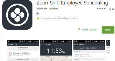 zoomshift for android