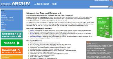 bitfarm archiv document management