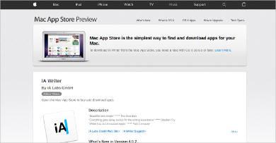 ia writer for mac