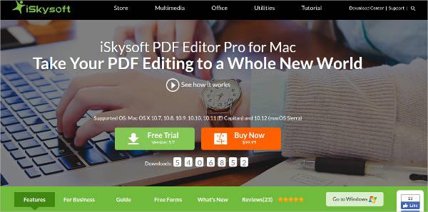iskysoft pdf editor pro for mac5