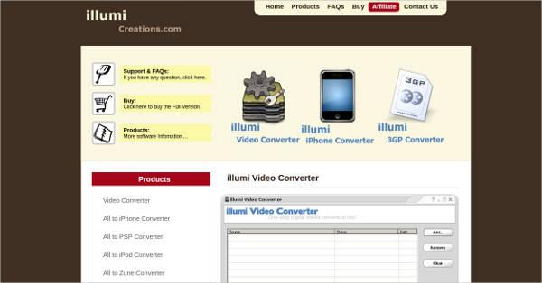 illumi video converter
